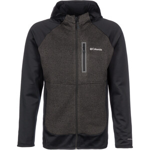 Columbia Altitude Aspect Hybrid Fleece Kapuzenjacke Herren black black
