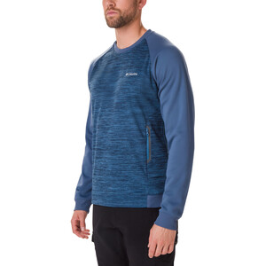 Columbia Tech Trail Midlayer Rundhals-Pullover Herren scout blue/dark mountain scout blue/dark mountain