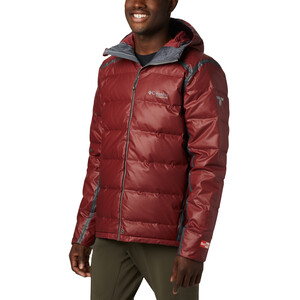 Columbia OutDry Ex Alta Peak Daunenjacke Herren red jasper heather red jasper heather