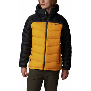 Columbia Centennial Creek Daunen-Kapuzenjacke Herren golden yellow/shark golden yellow/shark