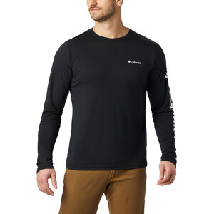 Columbia Miller Valley Langarm Graphic T-Shirt Herren black/white black/white