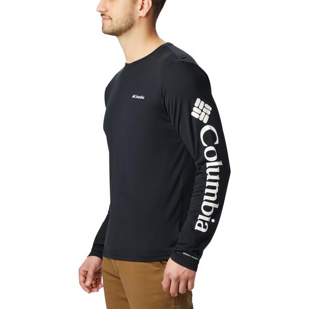 Columbia Miller Valley Langarm Graphic T-Shirt Herren black/white