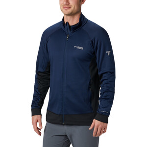 Columbia Mount Defiance Fleecejacke Herren collegiate navy/black collegiate navy/black