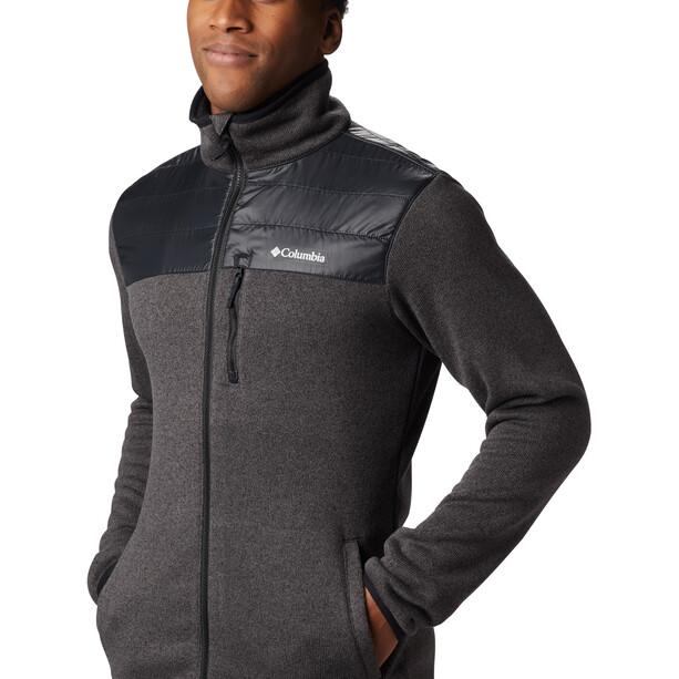Columbia Canyon Point Sweater Fleece Full Zip Jacke Herren black