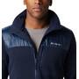 Columbia Canyon Point Sweater Fleece Full Zip Jacke Herren collegiate navy