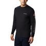 Columbia Columbia Lodge Langarm Graphic T-Shirt Herren black/sleeve hit