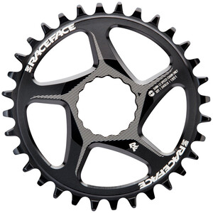 Race Face DM Cinch Kettenblatt 12-fach 32T für Shimano black black