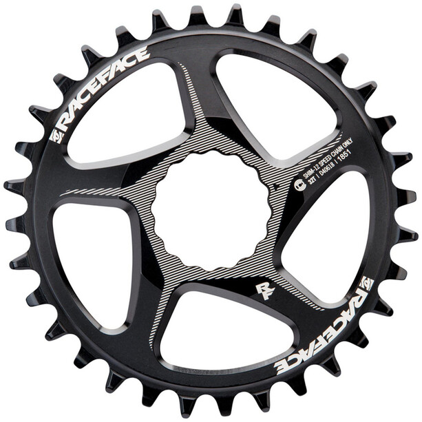 Race Face DM Cinch Kettenblatt 12-fach 32T für Shimano black