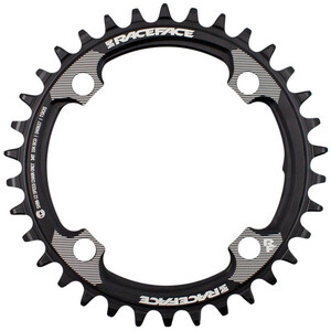Race Face Narrow Wide Chainring 12-speed 34T for Shimano ブラック