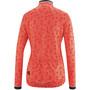 Gonso Julienne Full-Zip Langarm Trikot Damen fiery coral