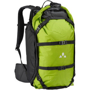 VAUDE Trailpack Mochila 27l, verde/negro verde/negro