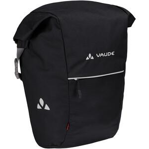 VAUDE Road Master Roll-It Pyörälaukku 18+4l, musta musta