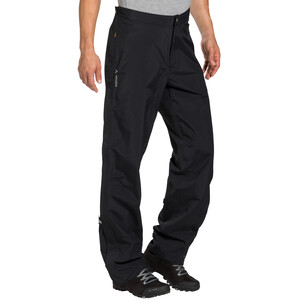 VAUDE Yaras III Rain Zip Pants Men black black