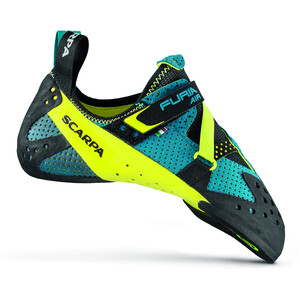 Scarpa Furia Air Kletterschuhe baltic blue/yellow baltic blue/yellow