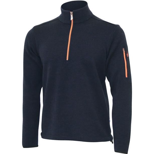 Ivanhoe of Sweden Assar Half-Zip Sweater Herren navy