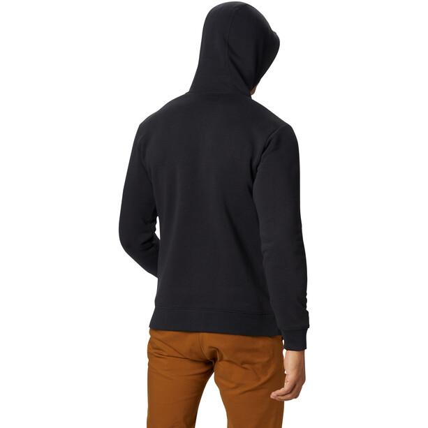 Mountain Hardwear Hardwear Logo Full Zip Hoody Herren black