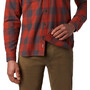 Mountain Hardwear Catalyst Edge Langarmshirt Herren rusted