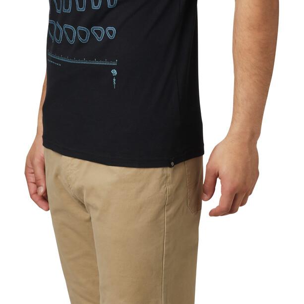 Mountain Hardwear Refer to Real Life Kurzarm T-Shirt Herren black
