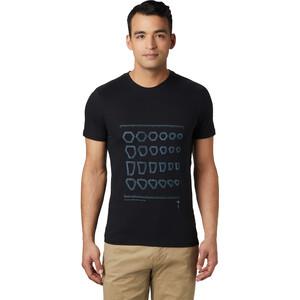 Mountain Hardwear Refer to Real Life Kurzarm T-Shirt Herren black black