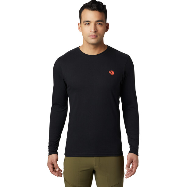 Mountain Hardwear Dome Degrees Langarmshirt Herren black