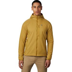 Mountain Hardwear Kor Strata Kapuzenjacke Herren gelb gelb