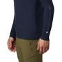 Mountain Hardwear Vertical Oriented Langarmshirt Herren dark zinc