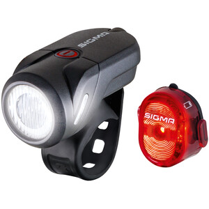 SIGMA SPORT Aura 35/Nugget II USB Light Set