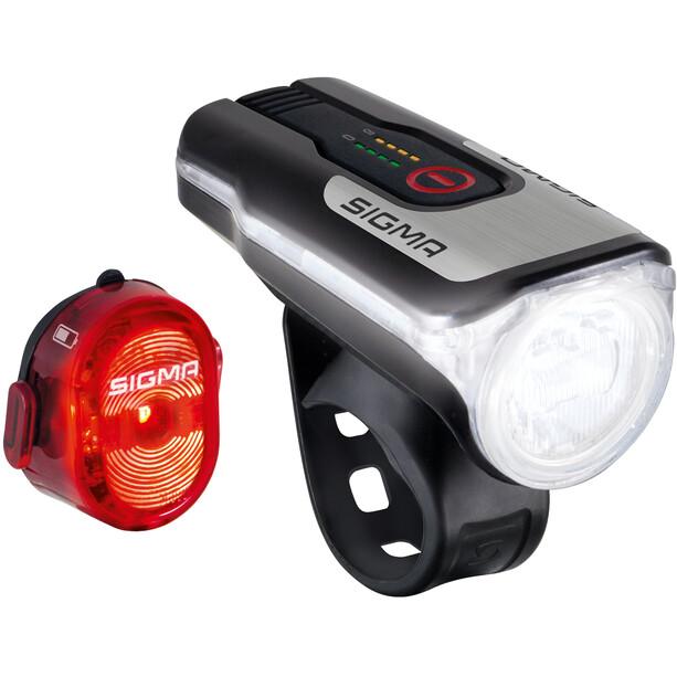 SIGMA SPORT Aura 80/Nugget II USB Beleuchtungsset