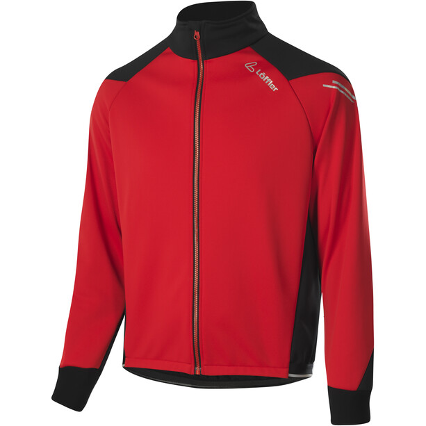 Löffler Bologna WS Warm Fahrrad Jacke Herren red