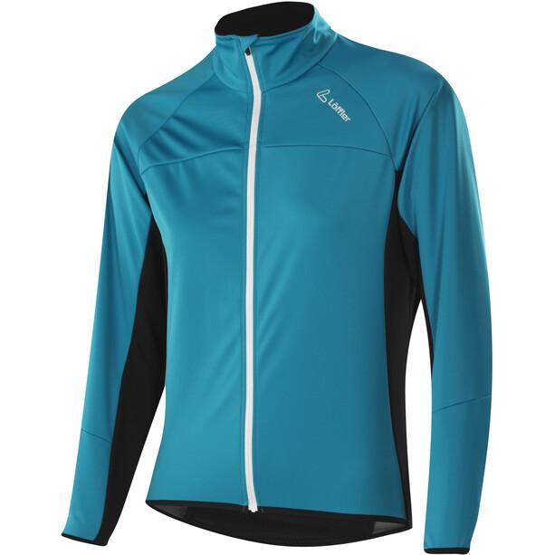 Löffler Alpha WS Light Fahrrad Jacke Damen topaz blue