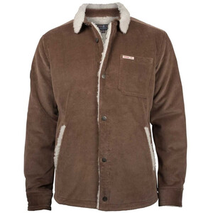 Amundsen Sports Harvester Overshirt Jacket Herr Desert Desert