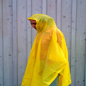 Coghlans Kevyt poncho, yellow yellow