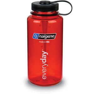 Nalgene Everyday Weithals Trinkflasche 1000ml red red