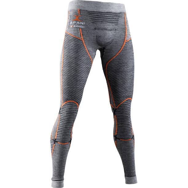 X-Bionic Apani 4.0 Merino Hose Herren black/grey/orange