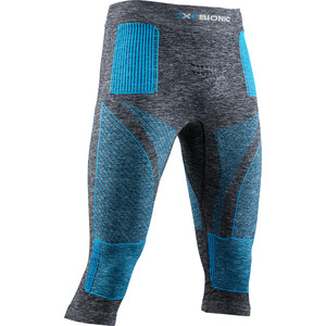 X-Bionic Energy Accumulator 4.0 Melange 3/4 Hose Herren dark grey melange/blue dark grey melange/blue