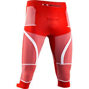 X-Bionic Energy Accumulator 4.0 Patriot Pantalon 3/4 Homme, rouge/blanc rouge/blanc