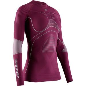 X-Bionic Energy Accumulator 4.0 T-shirt manches longues à col rond Femme, violet violet