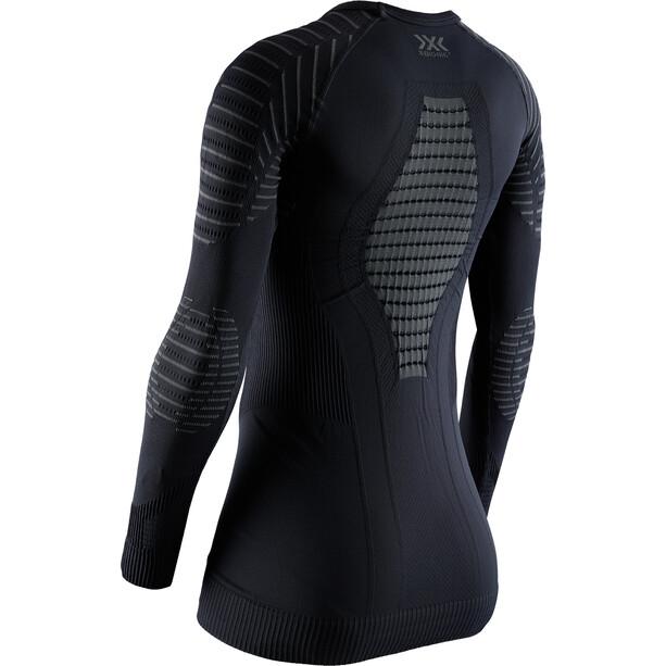 X-Bionic Invent 4.0 Langarm Rundhalsshirt Damen black/charcoal