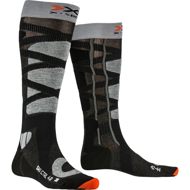 X-Socks Ski Control 4.0 Socken Herren anthracite melange/stone grey melange