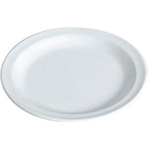 Waca Plate Melamine Flat 23,5cm, wit wit