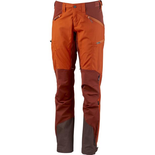 Lundhags Makke Pantalon Femme, amber/rust