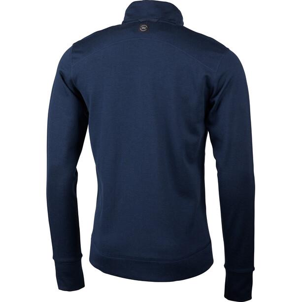 Lundhags Ullto Merino Full Zip Jacket Herr Deep Blue