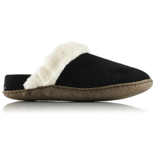 Sorel Nakiska Slide II Slippers Damen black/natural black/natural