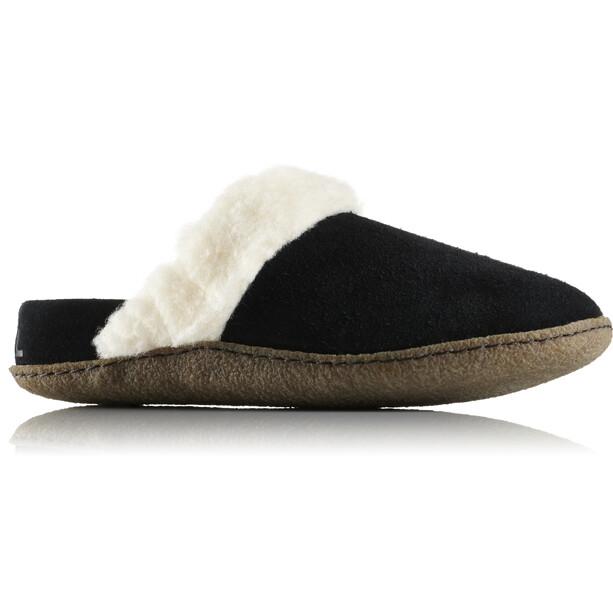 Sorel Nakiska Slide II Slippers Damen black/natural