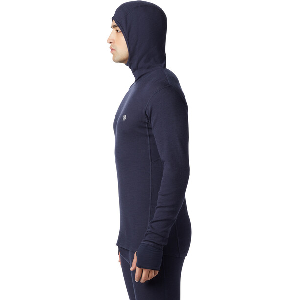 Mountain Hardwear Diamond Peak Thermal Hoody Herr Dark Zinc