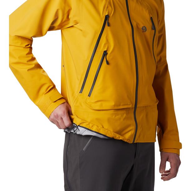 Mountain Hardwear High Exposure Gore-Tex C-Knit Jacket Herr Gold Hour