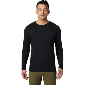 Mountain Hardwear Vertical Oriented Long Sleeve Tee Herr svart svart