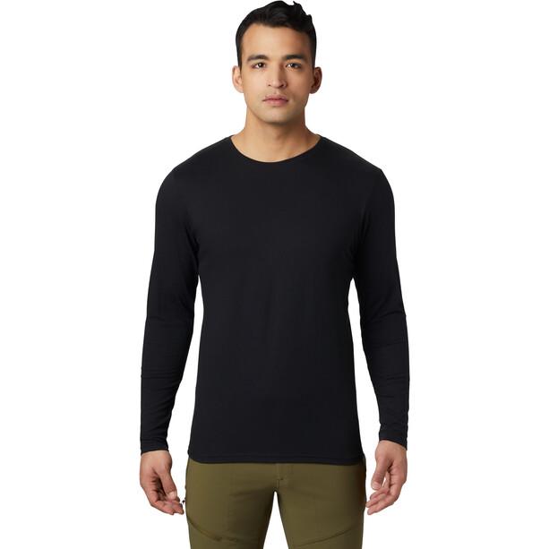 Mountain Hardwear Vertical Oriented Long Sleeve Tee Herr svart