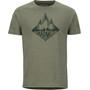 Marmot Rising Forest Kurzarm T-Shirt Herren olive heather