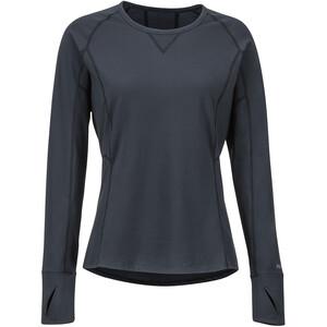 Marmot Lana Lightweight Langarm Rundhals Shirt Damen black black